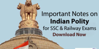 Indian Polity Notes PDF Download