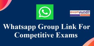 Whatsapp Study Group Link Join for Various Competitive Exams
