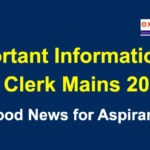 Important Information About IBPS Clerk Mains