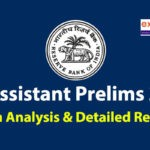 RBI Assistant Prelims Exam Analysis 2020