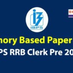 Memory Based Questions Asked in IBPS RRB Clerk Prelims 2020